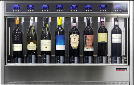 QUATTRO + 4 Wine Dispenser Machine