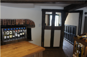 First UK installation of Wine Emotions Wine Dispensing system